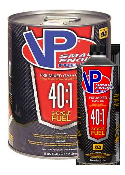 2 CYCLE 40:1 SEF VP Fuel